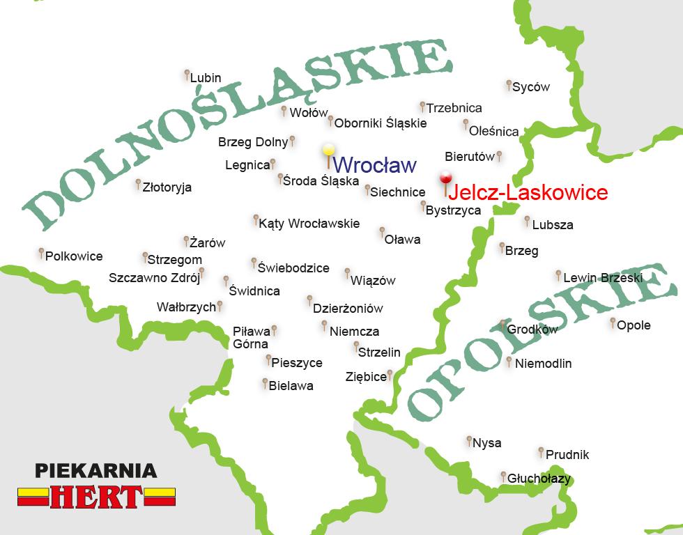 Mapa - Tutaj już jesteśmy...